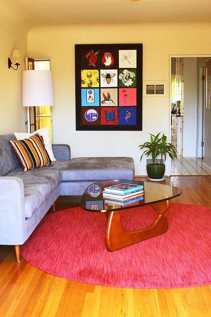 Modern Living Room by Melissa Mascara Design
