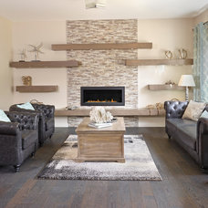 Contemporary Living Room by Parkwood Master Builder
