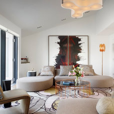 Modern Living Room by Gary Hutton Design