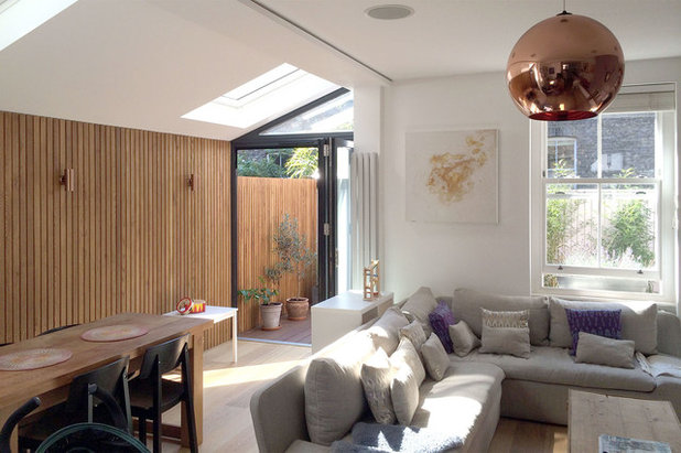 Contemporary Living Room by Proctor & Shaw