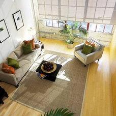 Contemporary Living Room by Verdigris
