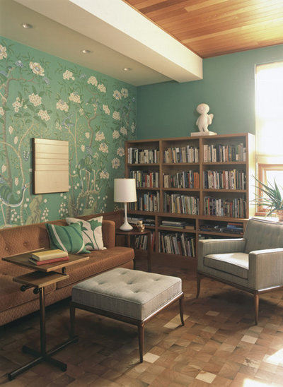 10 Vibrant Midcentury Modern Living Rooms