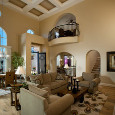 Mediterranean Living Room by Luster Custom Homes