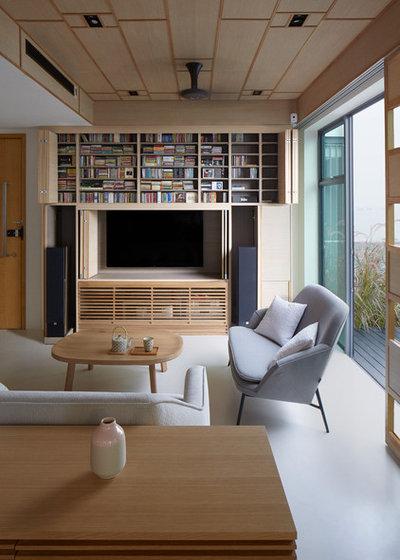 houzzbesuch raffinierter sichtschutz f r ein penthouse in singapur. Black Bedroom Furniture Sets. Home Design Ideas