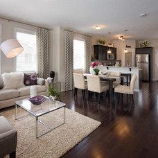 Contemporary Living Room by Concept to Design Inc.