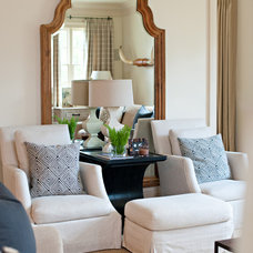Contemporary Living Room by Dana Wolter