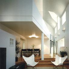 Modern Living Room Veverka Architects