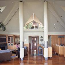 Contemporary Living Room Veverka Architects