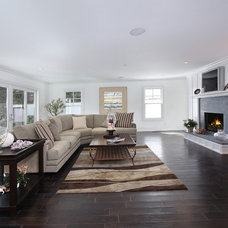 Beach Style Living Room by Home Staging by Carol Roemmer