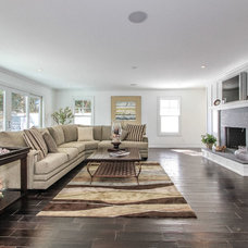 Transitional Living Room by Elite So Cal Homes
