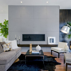 Contemporary Living Room by Kaidan Erwin Interior Design & Home Staging