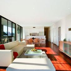 Contemporary Living Room Victoria Park