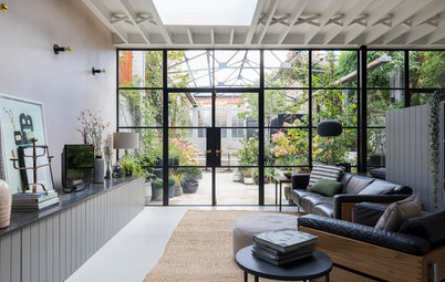 Converted Century-Old Dairy With a Magical Courtyard
