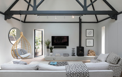 Houzz Tour: English Victorian Mixes Old and New