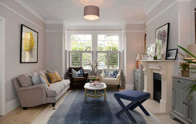 Houzz Tour: A Victorian Property is Refreshed With Colour and Print