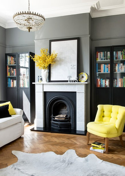 Contemporary Living Room by Cheshire Interior Design