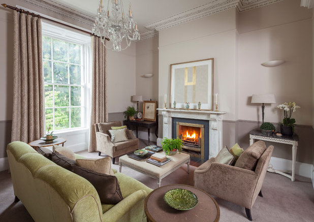 Traditional Living Room By Merrion Square Interiors