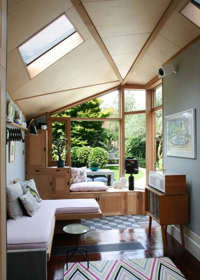 Midcentury Living Room by Alison Hammond Photography