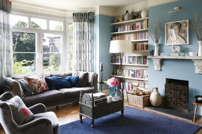 Eclectic Living Room by Alison Hammond Photography
