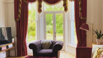 Victorian house window treatment