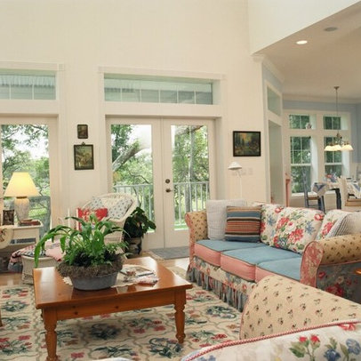 Living Room shabby chic living Design Ideas, Pictures, Remodel and ...