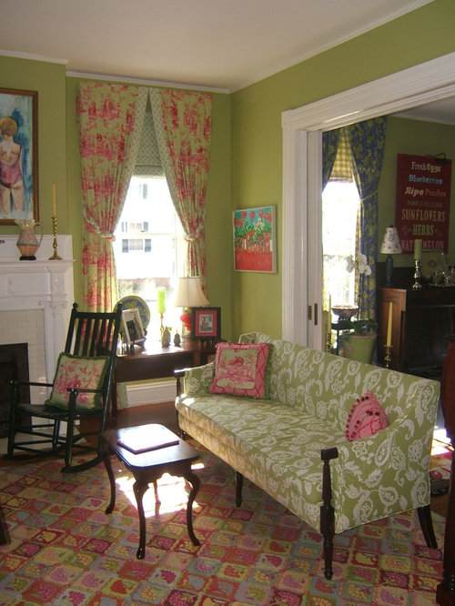 Victorian living room houzz for Victorian living room