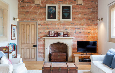 My Houzz: A Converted Victorian Schoolhouse Gets a Lesson in Style