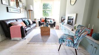 Victorian Terrace, Cambridge, Living Room
