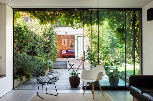 Trendy Dagligstue by Charles Barclay Architects