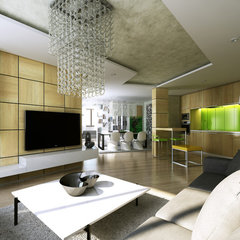 modern living room by Adel Zakout