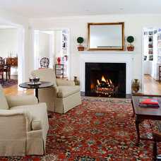 Traditional Living Room by AHMANN LLC