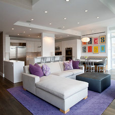 Contemporary Living Room by A2 Architect, PC
