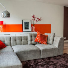 Modern Living Room by ijzersterk interieurontwerp
