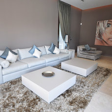 Contemporary Living Room by FOC Design