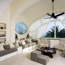 Mediterranean Living Room by Fabrizia Frezza Architecture & Interiors