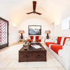 Mediterranean Living Room by Fabrizia Frezza Architecture & Interiors