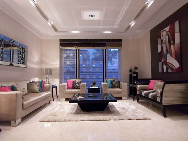 Contemporary Living Room by Krishvi