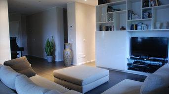 Villa interiors - living room