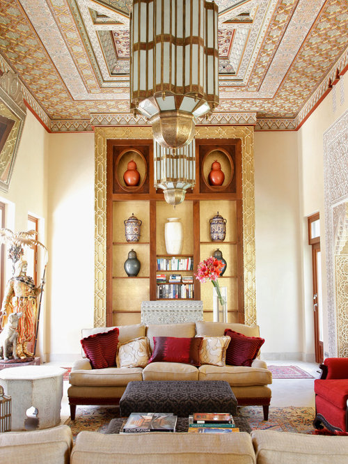 Moroccan Living Room Furniture | Houzz
