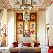 Mediterranean Living Room by Gregory Davies Photography