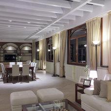 Contemporary Living Room by Architetti Bova