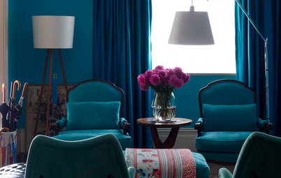 This is Why Petrol Blue is the Interior Colour Trend to Try Now