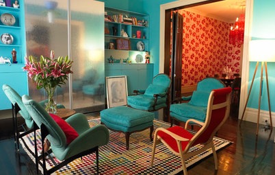 8 Rooms, 4 Ways to Go Big and Bold With Colour