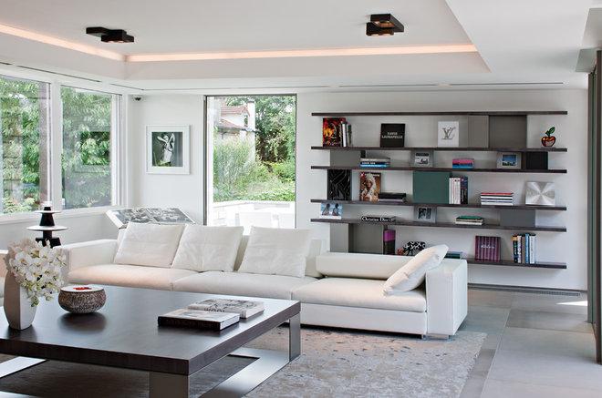 Contemporain Salon by Hélène & Olivier Lempereur