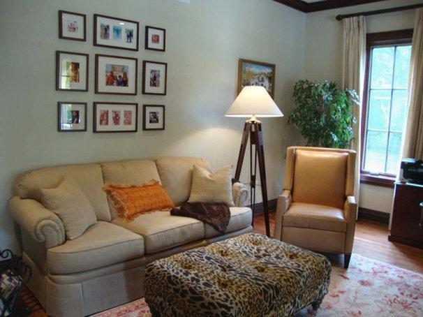 Traditional Living Room by Alan Kosa Interiors