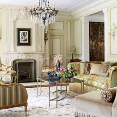 Traditional Living Room by Wilson Kelsey Design