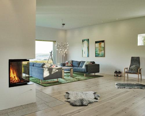 Scandinavian Green Living Room Design Ideas Renovations Amp Photos