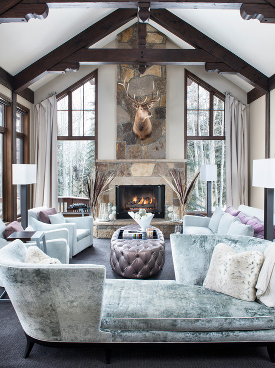 Rustic Glam Living Room rustic glam | houzz