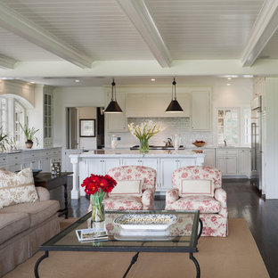 Kitchen And Living Room Houzz