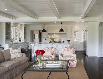 Villanova Residence - family room & kitchen